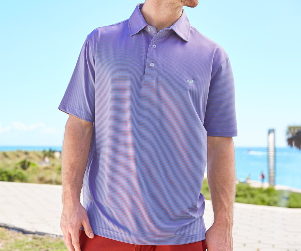 Bermuda Performance Polo - Johnson