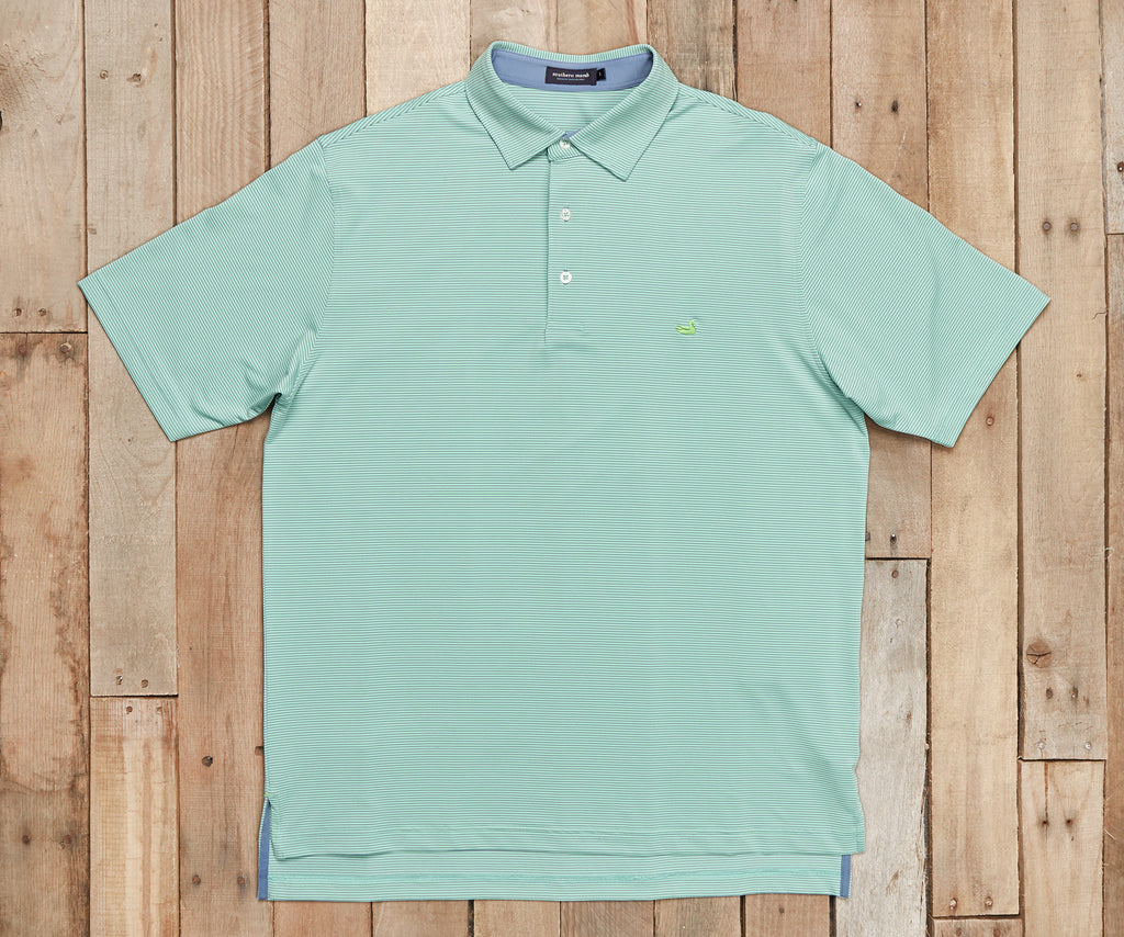 Bermuda Performance Polo - Johnson Stripe