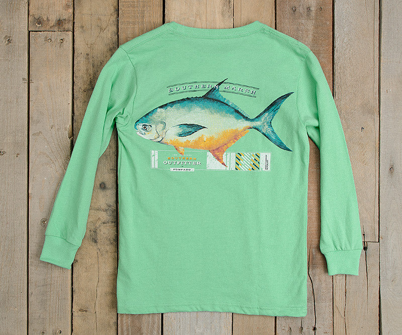 Youth Outfitter Collection Tee - Pompano - Long Sleeve