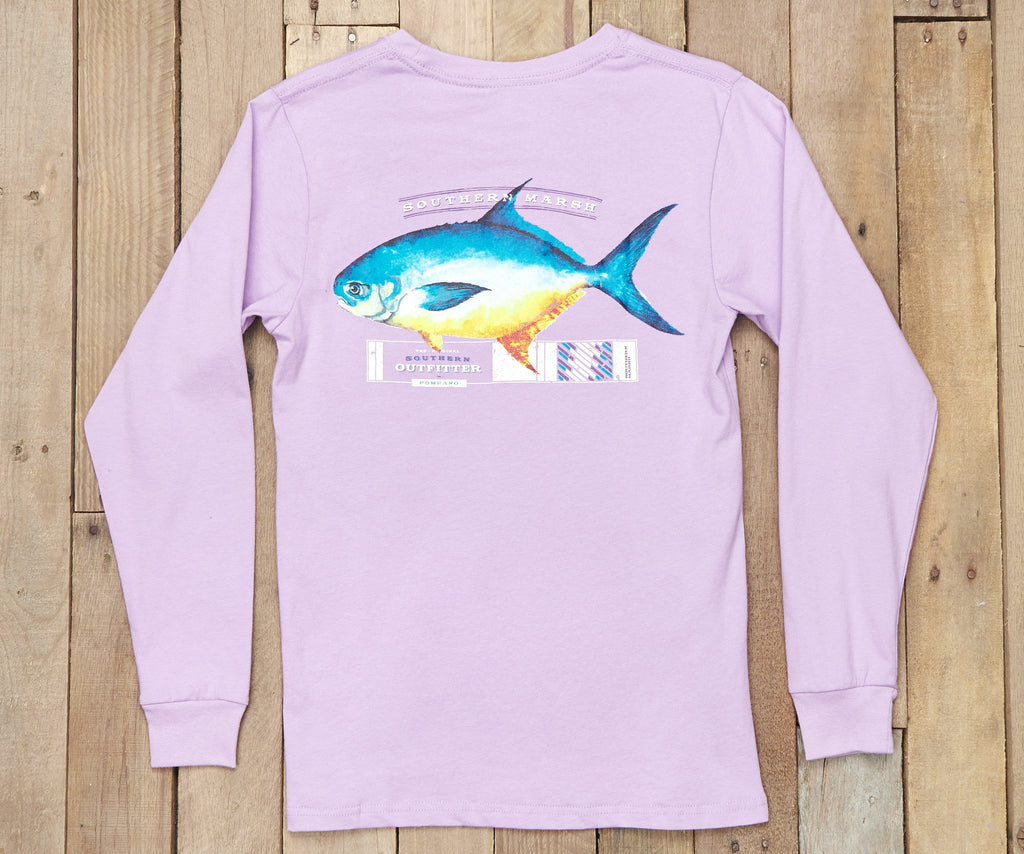 Outfitter Collection Tee - Pompano - Long Sleeve