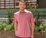Maroon | Rutledge Heather Performance Polo