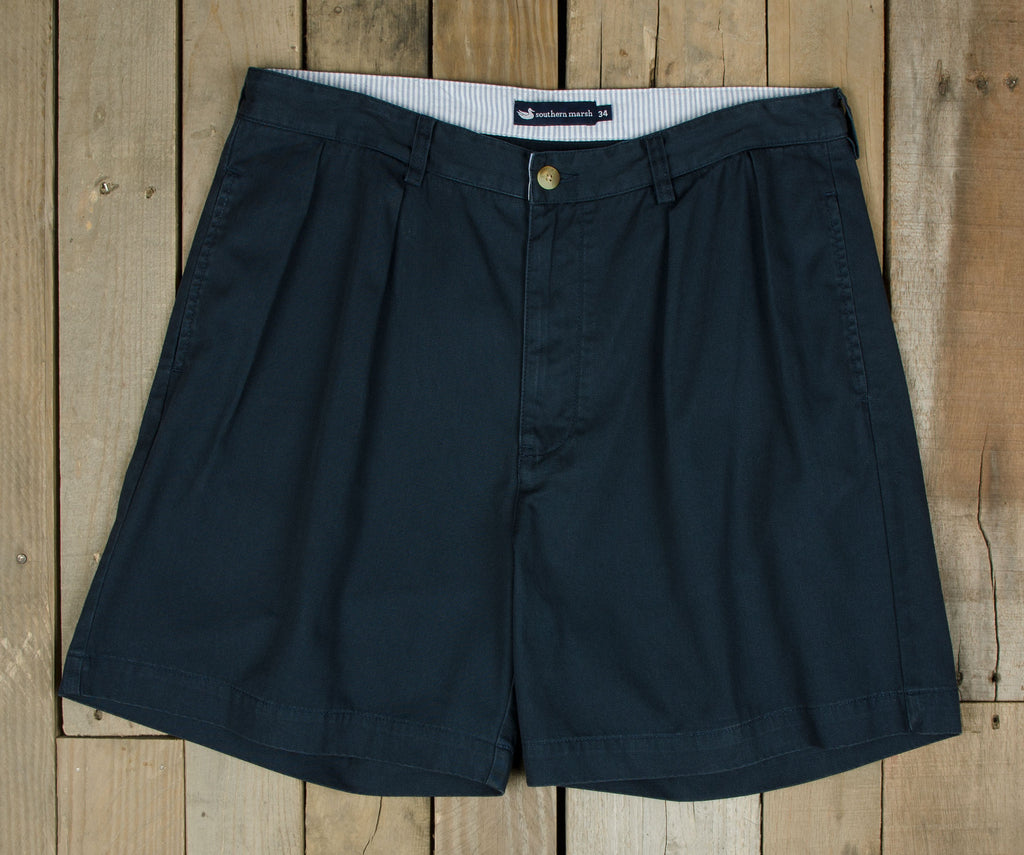 "Regatta Short - 6"" Pleated - Tulane University"