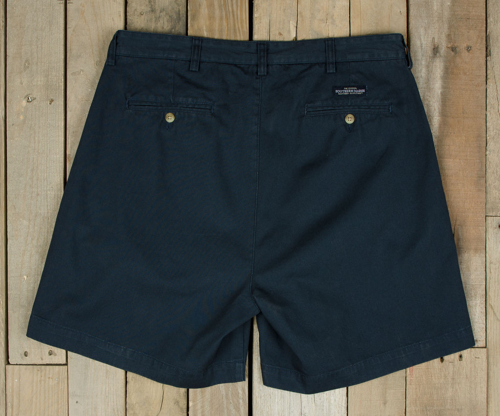 "Regatta Short - 6"" Pleated - University of North Carolina at Wilmington"