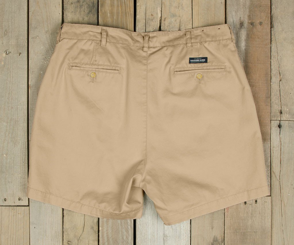 "Regatta Short - 6"" Pleated"