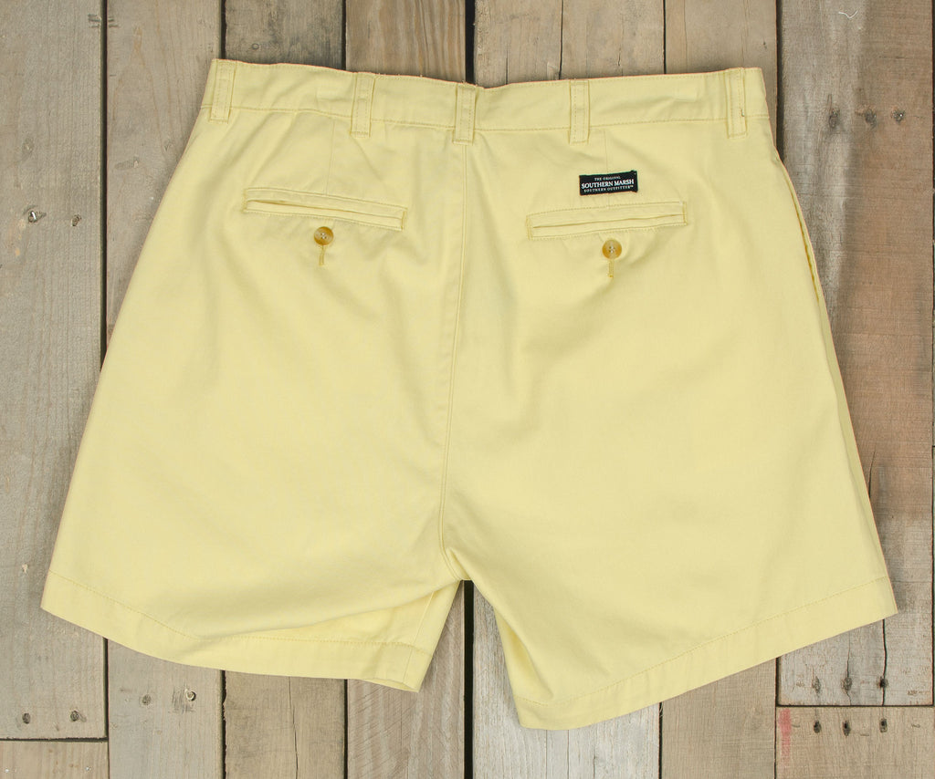 "Regatta Short - 6"" Pleated - Southern Miss"
