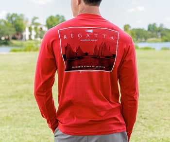 Regatta Flag Tee - Long Sleeve