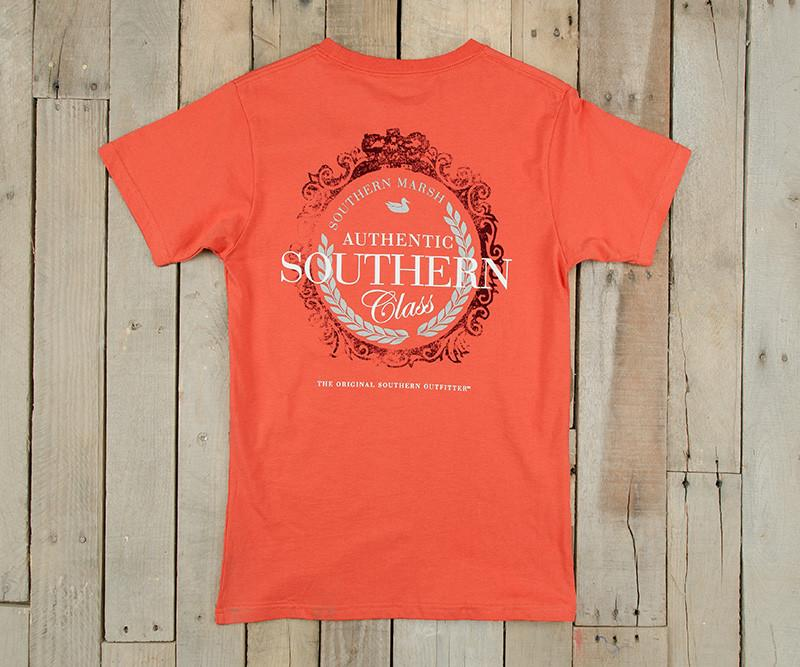 Southern Class Tee | Burnt Sienna | Southern Marsh