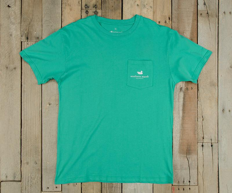 Southern Class Tee | Jockey Green | Front