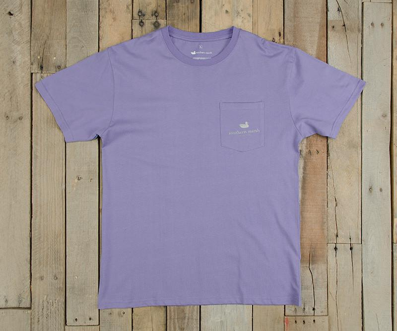 Southern Class Tee | Lilac | Front