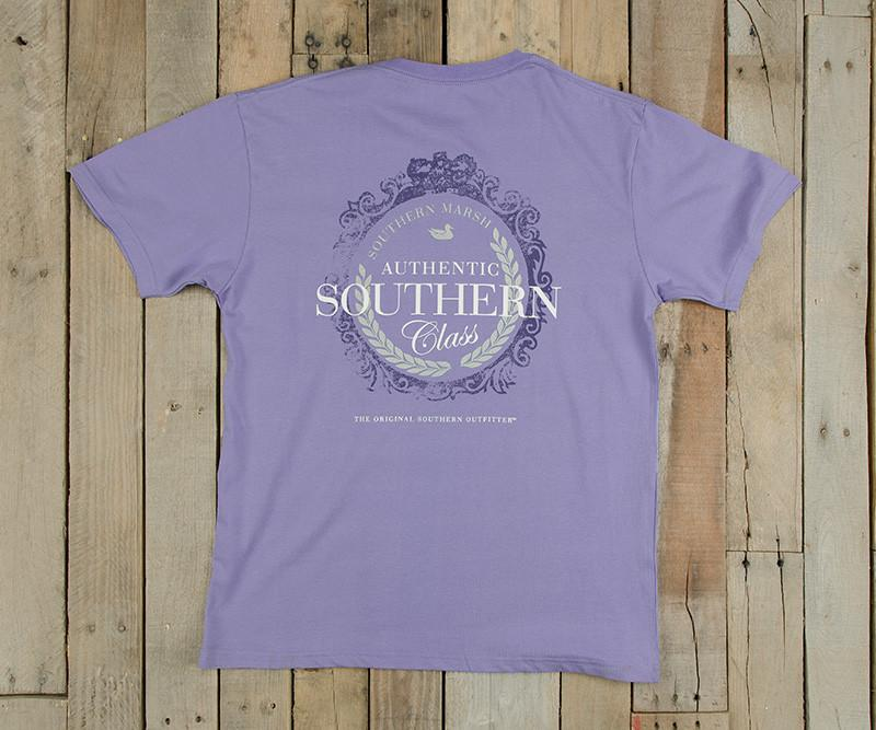 Southern Class Tee | Lilac | Southern Marsh