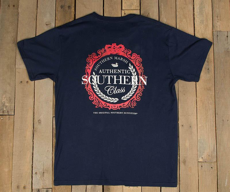 Southern Class Tee | Navy | Southern Marsh