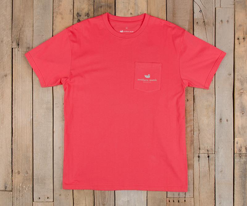 Southern Class Tee | Strawberry Fizz | Front