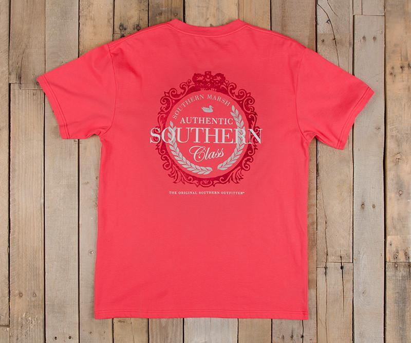 Southern Class Tee | Strawberry Fizz | Southern Marsh