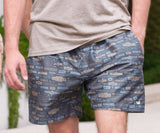 Navy Avenues | Dockside Swim Trunk | Avenues | Swim Shorts | Southern Summer Style