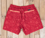 Red Bali | Dockside Swim Trunk | Bali | Swim Shorts | red swim shorts