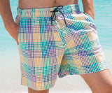 Dockside Swim Trunk - Seersucker Gingham