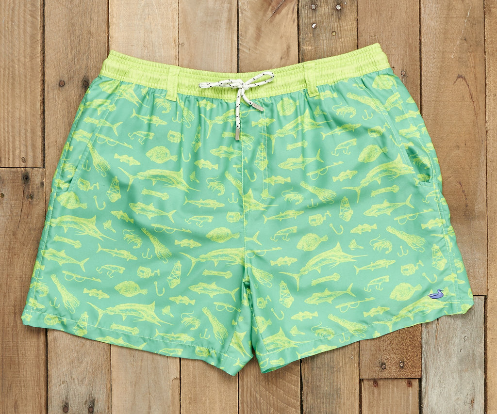 Dockside Swim Trunk - Offshore