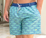 Slate     and     Mint | Dockside Swim Trunk | School's Out | Swim Shorts