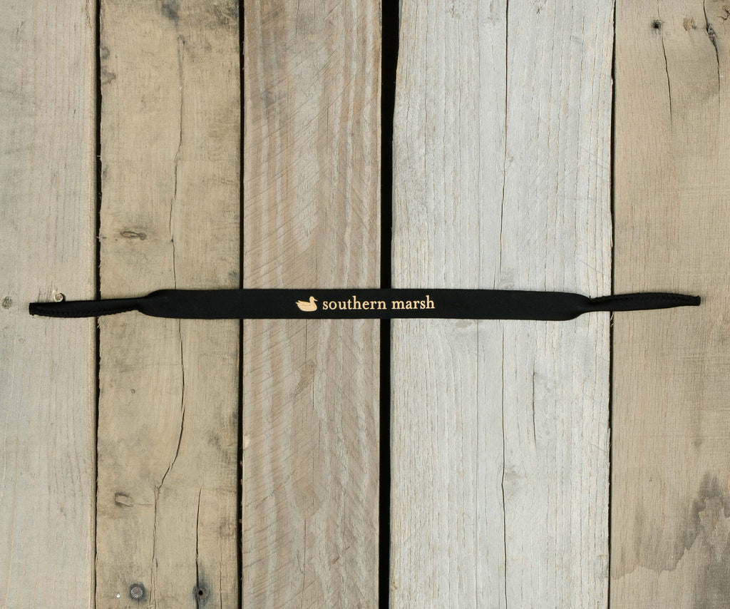 Black with Gold Duck | Special Edition Sunglass Straps
