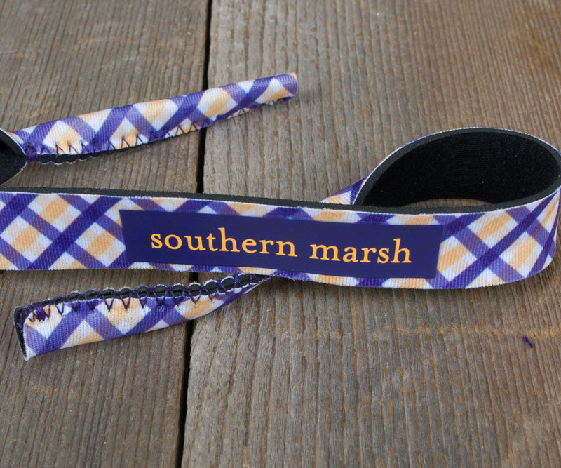 Gingham - Purple and Yellow