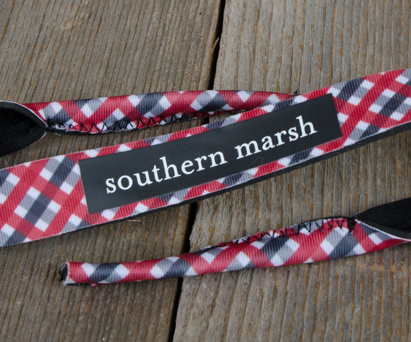 Gingham - Red and Black