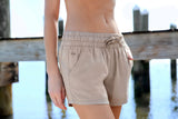 Burnt Taupe | Rachel Relaxed Shorts | Lifestyle