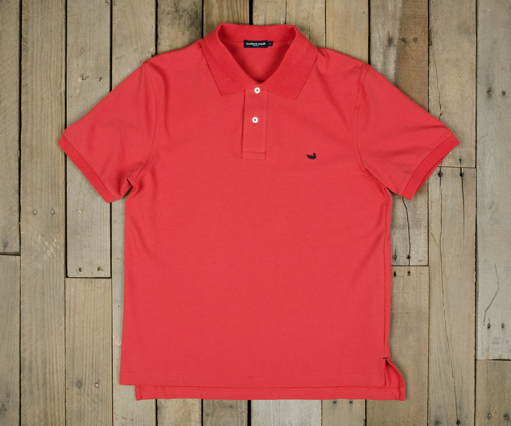 Claiborne Red with Navy Duck | Stonewall Polo