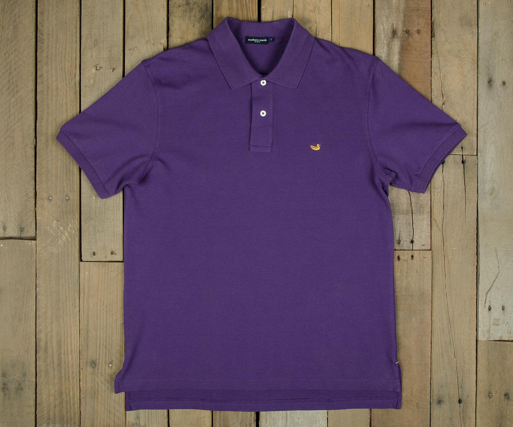 Purple with Yellow Duck | Stonewall Polo