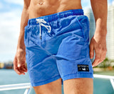 Washed Blue Shoals | SEAWASH™ Shoals Swim Trunk | Washed Blue