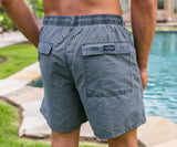SEAWASH Washed Navy | SEAWASH™ Shoals Swim Trunk | Lifestyle