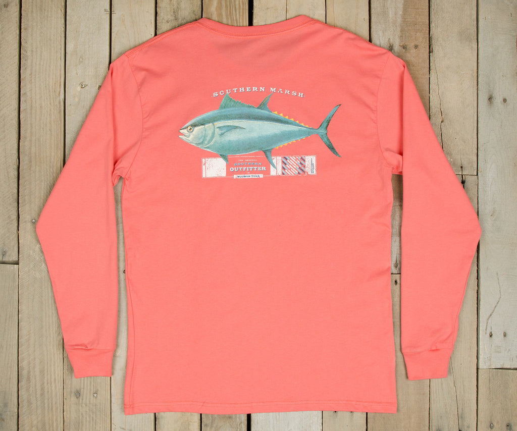 Outfitter Collection Tee - Tuna - Long Sleeve
