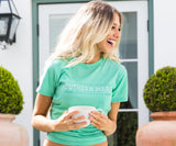 SEAWASH Mint | SEAWASH™ Crewneck | Rustic Trademark | Womens Fit T-Shirt