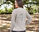 SEAWASH Burnt Taupe | SEAWASH™ Tee | Paddle | Long Sleeve