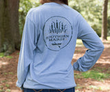 SEAWASH Washed Blue | SEAWASH™ Tee | Paddle | Long Sleeve
