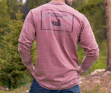 SEAWASH Crimson | SEAWASH™ Tee | Pond | Long Sleeve