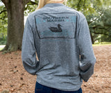 SEAWASH Midnight Gray | SEAWASH™ Tee | Pond | Long Sleeve