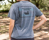 SEAWASH Midnight Gray | SEAWASH™ Tee | Pond | Short Sleeve