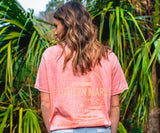SEAWASH Coral | SEAWASH™ Tee | Sail Away | Short Sleeve T-Shirt