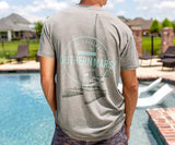 SEAWASH Burnt Taupe | SEAWASH™ Tee | Sail Away | Short Sleeve T-Shirt | Lifestyle