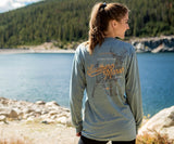 Burnt Sage | SEAWASH™ Tee | Deer | Long Sleeve T-Shirt