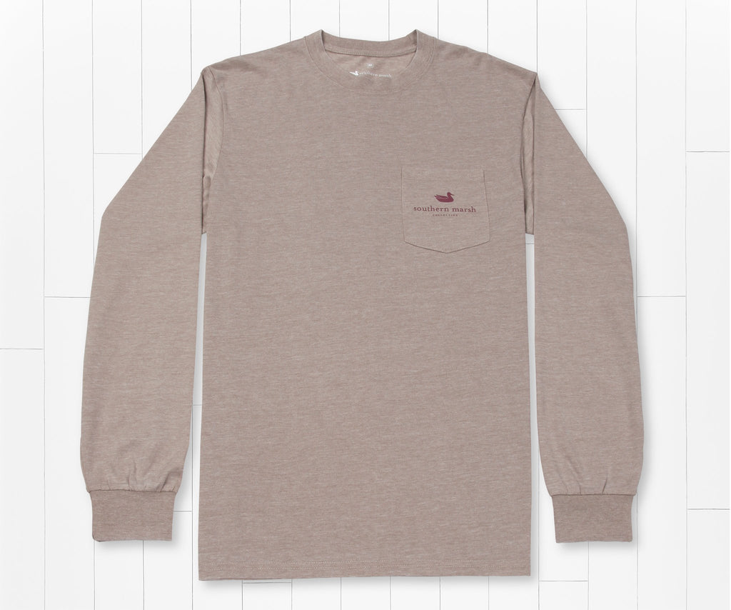Burnt Taupe | SEAWASH™ Tee | Deer | Long Sleeve T-Shirt
