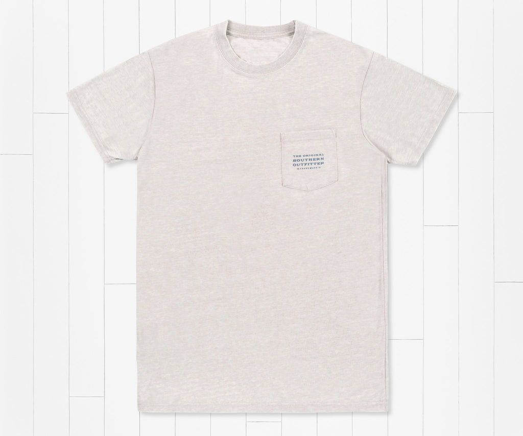 Light Gray | SEAWASH™ Tee | Sun Lines | Front