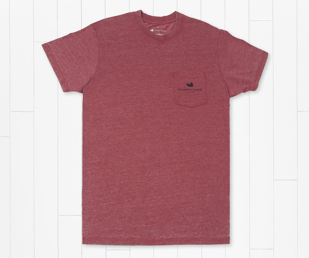 SEAWASH Crimson | SEAWASH™ Tee | Dog | Short Sleeve T-Shirt
