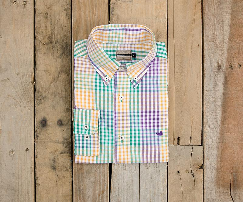Everett Gingham Dress Shirt
