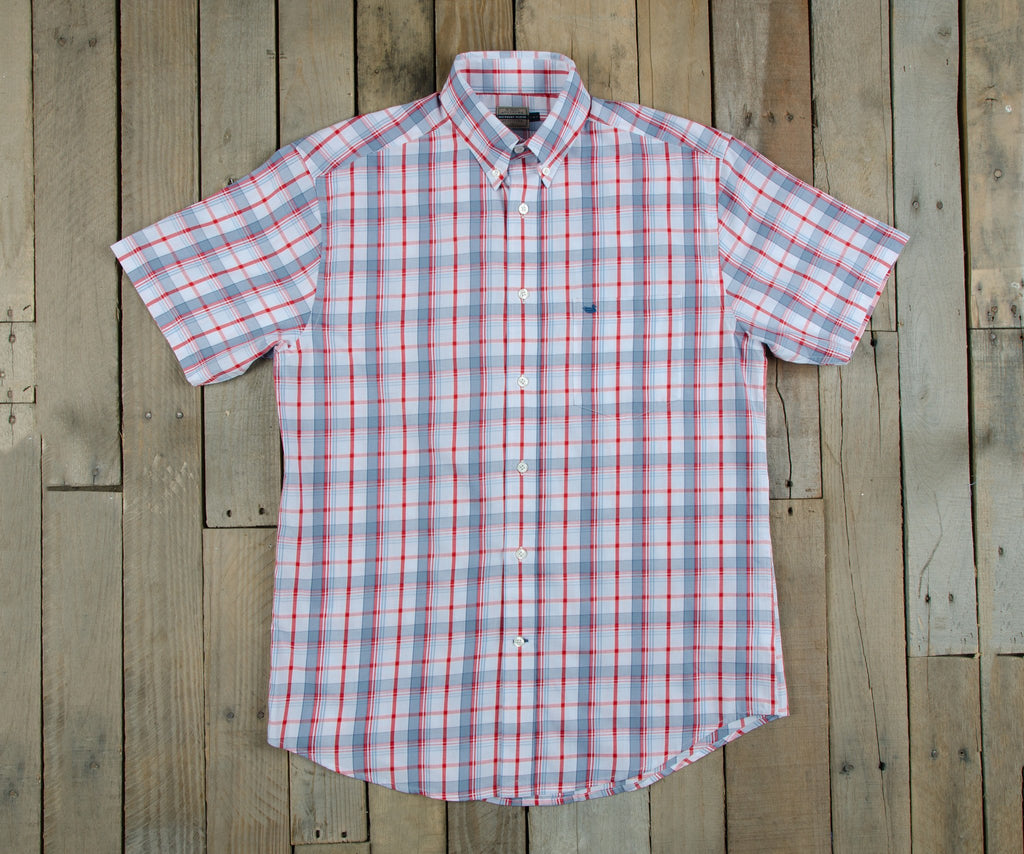 Southern marsh collection knoxboro plaid dress shirt for Southern marsh dress shirts on sale