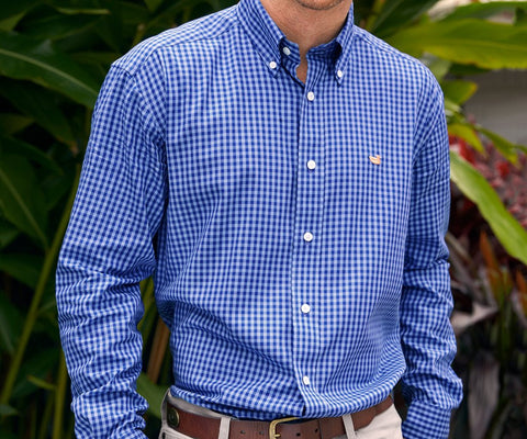 Memphis Gingham Dress Shirt