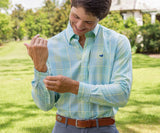 Sage  and Lime | Miller Gingham Dress Shirt