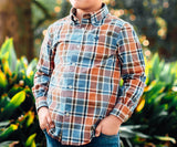 Youth Ocoee Washed Plaid