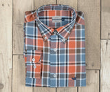 Slate and Bisque | Ocoee Washed Plaid Dress Shirt