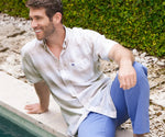The Richard Dress Shirt - Linen Lines